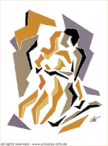 universal arts Jacqueline Ditt & Mario Strack, Position 3 von Jacqueline Ditt, Abstraktes, Diverse Erotik, Gegenwartskunst