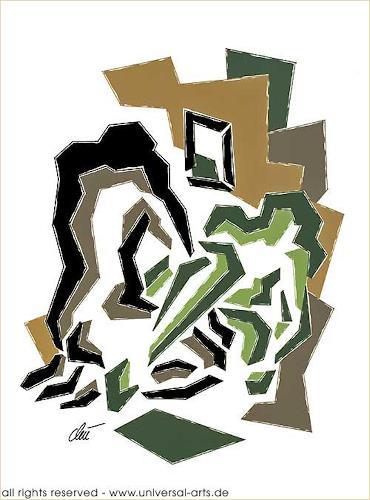 universal arts Jacqueline Ditt & Mario Strack, Position 4 von Jacqueline Ditt, Abstraktes, Diverse Erotik, Gegenwartskunst
