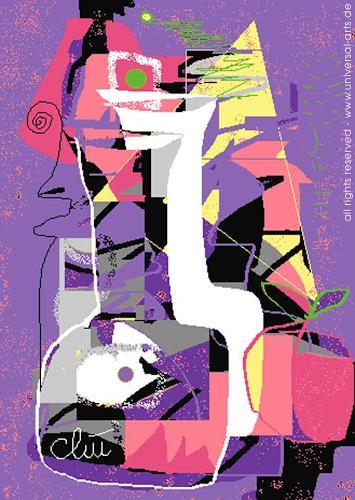 universal arts Jacqueline Ditt & Mario Strack, Still Life von Jacqueline Ditt, Abstraktes, Stilleben, Expressionismus