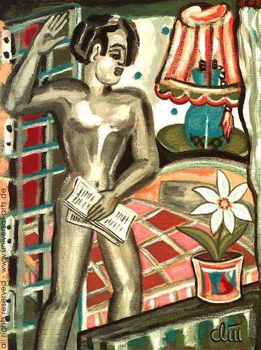 universal arts Jacqueline Ditt & Mario Strack, Superlover von Jacqueline Ditt, Akt/Erotik: Akt Mann, Diverse Erotik, Expressionismus