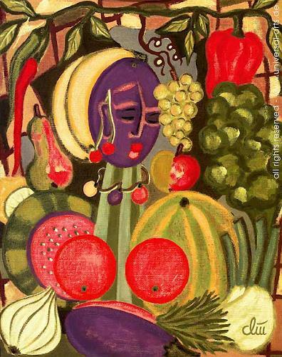 universal arts Jacqueline Ditt & Mario Strack, Natures Variety von Jacqueline Ditt, Stilleben, Fantasie, Expressionismus