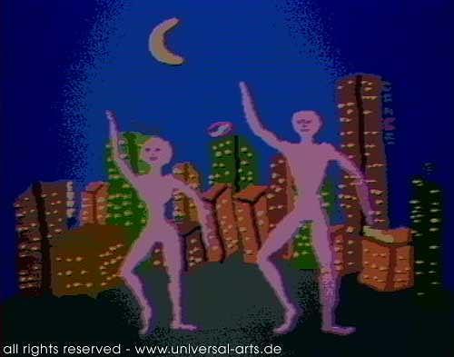 universal arts Jacqueline Ditt & Mario Strack, The Dance 2 von Mario Strack, Menschen: Paare, Diverse Menschen, Minimal Art