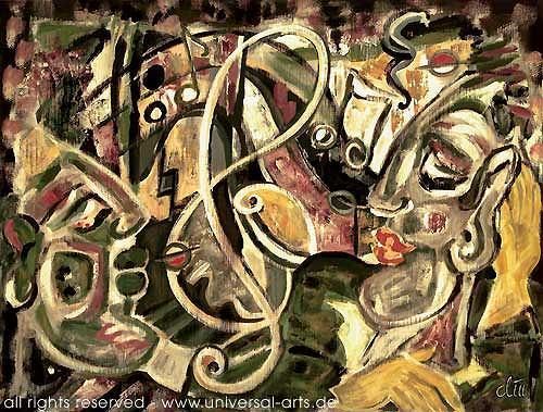 universal arts Jacqueline Ditt & Mario Strack, Get the Groove von Jacqueline Ditt, Musik: Konzert, Diverse Musik, Expressionismus