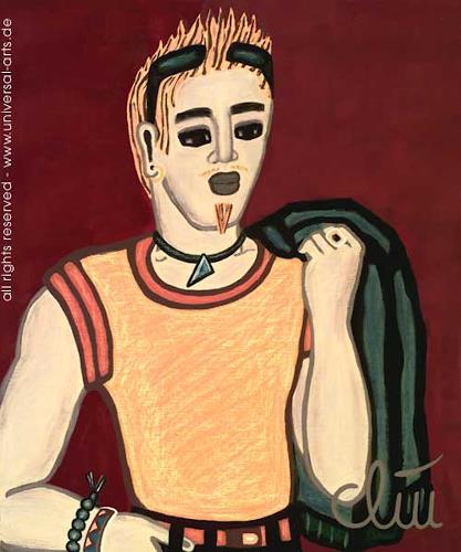 universal arts Jacqueline Ditt & Mario Strack, Sunnyboy von Jacqueline Ditt, Menschen: Mann, Fashion