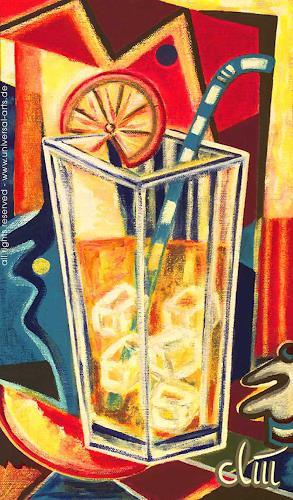 universal arts Jacqueline Ditt & Mario Strack, On the Rocks von Jacqueline Ditt, Stilleben, Essen, Expressionismus