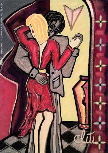 universal arts Jacqueline Ditt & Mario Strack, Innig von Jacqueline Ditt, Diverse Erotik, Menschen: Paare, Expressionismus