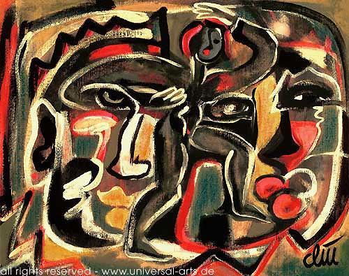 universal arts Jacqueline Ditt & Mario Strack, Der Traumtänzer von Jacqueline Ditt, Bewegung, Fantasie, Expressionismus