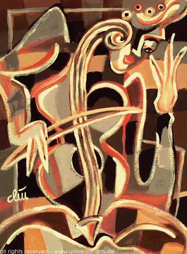 universal arts Jacqueline Ditt & Mario Strack, Das nackte Cello von Jacqueline Ditt, Fantasie, Musik: Instrument