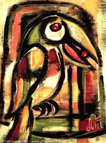 universal arts Jacqueline Ditt & Mario Strack, Vogel frei ? von Jacqueline Ditt, Tiere: Luft, Diverse Tiere