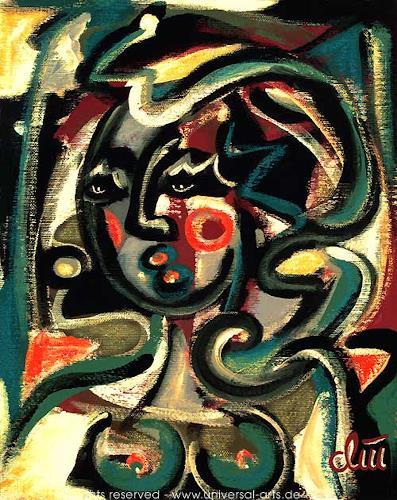 universal arts Jacqueline Ditt & Mario Strack, Die Sehnsucht von Jacqueline Ditt, Menschen: Frau, Diverse Gefühle, Expressionismus