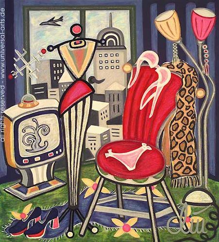 universal arts Jacqueline Ditt & Mario Strack, Cosmopolitan Flair von Jacqueline Ditt, Stilleben, Fashion, Expressionismus
