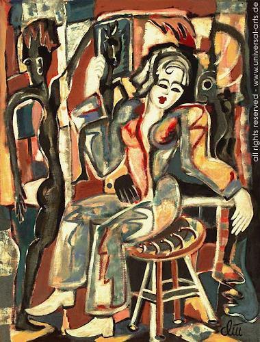 universal arts Jacqueline Ditt & Mario Strack, Die Schatten von Jacqueline Ditt, Menschen: Frau, Symbol, Expressionismus