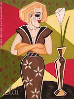 universal-arts-Jacqueline-Ditt---Mario-Strack-Menschen-Frau-Menschen-Modelle-Moderne-Expressionismus