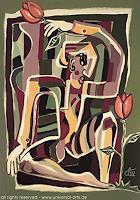 universal-arts-Jacqueline-Ditt---Mario-Strack-Menschen-Mann-Natur-Erde-Moderne-Expressionismus