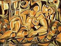 universal-arts-Jacqueline-Ditt---Mario-Strack-Akt-Erotik-Akt-Frau-Mythologie-Moderne-Expressionismus