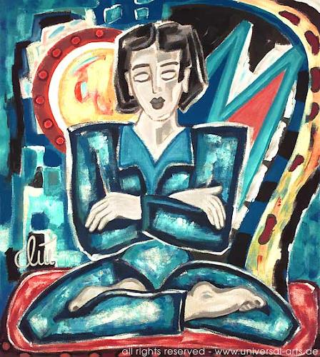 universal arts Jacqueline Ditt & Mario Strack, Looking Inside von Jacqueline Ditt, Diverse Menschen, Diverse Gefühle, Expressionismus