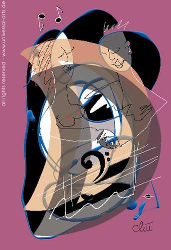 universal arts Jacqueline Ditt & Mario Strack, SoudTrack 5 von Jacqueline Ditt, Abstraktes, Diverse Musik, Expressionismus