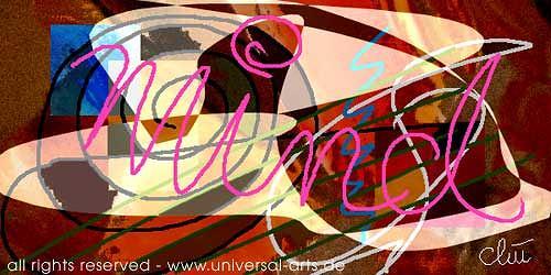 universal arts Jacqueline Ditt & Mario Strack, Mind von Jacqiueline Ditt, Mythologie, Abstraktes, Expressionismus