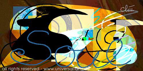universal arts Jacqueline Ditt & Mario Strack, Soul von Jacqueline Ditt, Abstraktes, Diverse Gefühle, Expressionismus