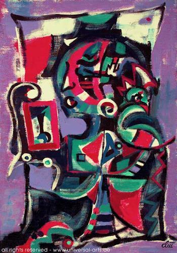 universal arts Jacqueline Ditt & Mario Strack, Spieglein an der Wand von Jacqueline ditt, Fantasie, Mythologie, Expressionismus