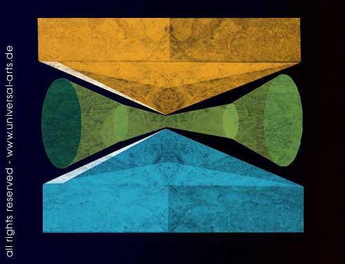 universal arts Jacqueline Ditt & Mario Strack, Aesthetics 1 von Mario Strack, Abstraktes, Symbol, Minimal Art