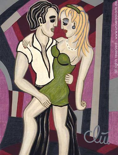 universal arts Jacqueline Ditt & Mario Strack, Dancing Dirty von Jacqueline Ditt, Menschen: Paare, Gesellschaft, Expressionismus