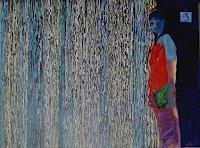 Bart Fraczek, in the rain