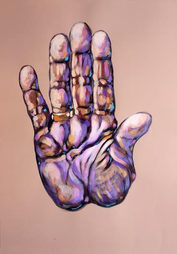 Mascha Düben, Hand-Landschaften, Diverse Menschen, Mythologie, Impressionismus