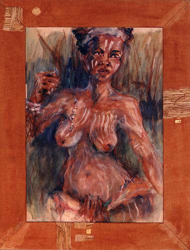 Mascha Düben, Afrika, Tanz, Diverse Erotik, Jagd, Gegenwartskunst