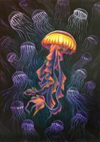 Mascha-Dueben-Tiere-Wasser-Natur-Wasser-Neuzeit-Realismus