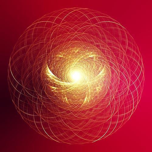 Falk Wegner, Lightcircle, Abstraktes, Religion, Gegenwartskunst