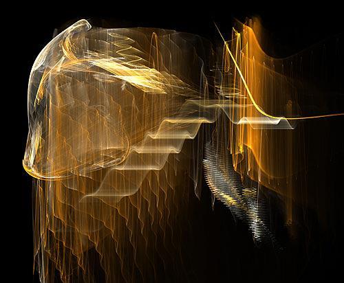 Falk Wegner, Waves, Abstraktes, Technik, Gegenwartskunst, Abstrakter Expressionismus