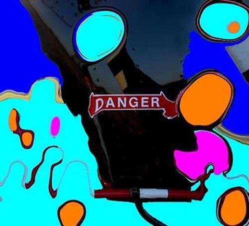 anita rössler, danger, Abstraktes, Postmoderne