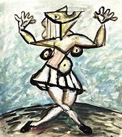 Lubomir-Tkacik-Menschen-Frau-Gegenwartskunst--Neo-Expressionismus