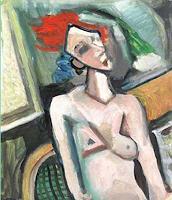 Lubomir-Tkacik-Menschen-Frau-Akt-Erotik-Akt-Frau-Gegenwartskunst--Neo-Expressionismus