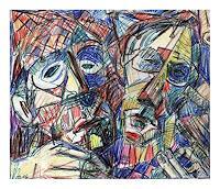 Lubomir-Tkacik-Diverse-Zirkus-Gegenwartskunst--Neo-Expressionismus