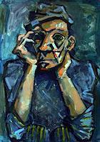 Lubomir-Tkacik-Menschen-Mann-Menschen-Gesichter-Moderne-Expressionismus-Neo-Expressionismus