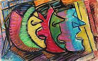 Lubomir-Tkacik-Menschen-Gesichter-Moderne-Expressionismus-Neo-Expressionismus