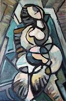 Lubomir-Tkacik-Menschen-Frau-Moderne-Kubismus