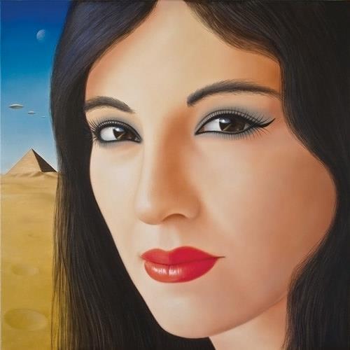 Cesare Vignato, Nefertiti, Menschen: Porträt, Geschichte, Gegenwartskunst, Expressionismus