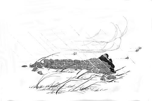 eric j rhoades, The Traveller 3, Menschen: Mann