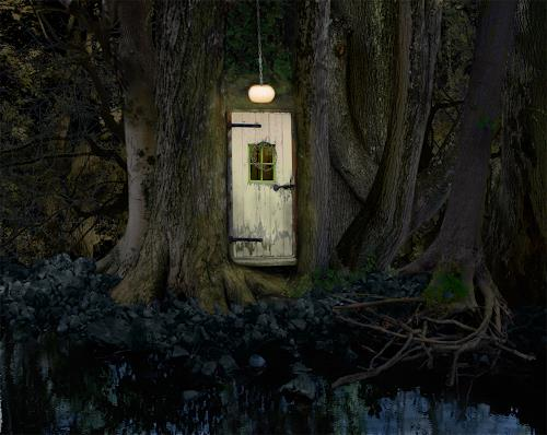 eric j rhoades, The Forest House, Fantasie, Gegenwartskunst