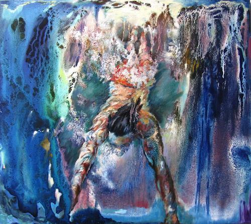 Ligo, Silence, Natur: Wasser, Menschen: Mann, Neo-Expressionismus, Abstrakter Expressionismus
