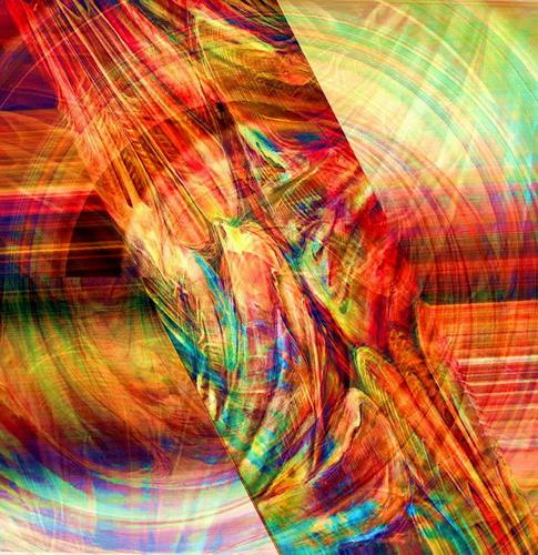 Ligo, Reflections, Abstraktes, Bewegung, Pluralismus