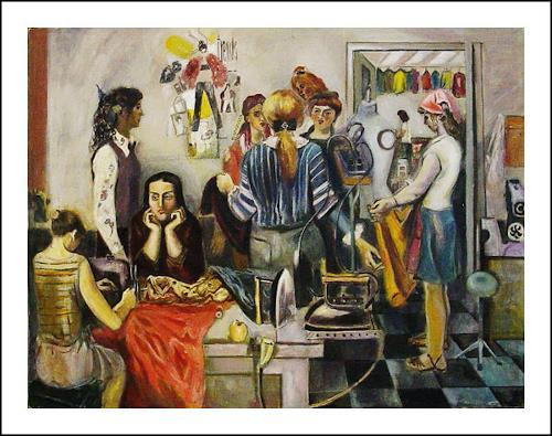 juri frantsuzov, Schneiderei, Menschen: Gruppe, Realismus, Expressionismus