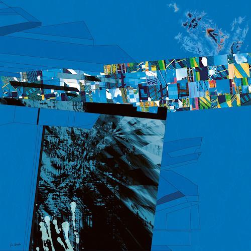 Van Renselar, The Decision, Abstraktes, Abstraktes, Abstrakte Kunst, Abstrakter Expressionismus