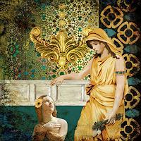 Van-Renselar-Menschen-Familie-Abstraktes-Gegenwartskunst-Postsurrealismus