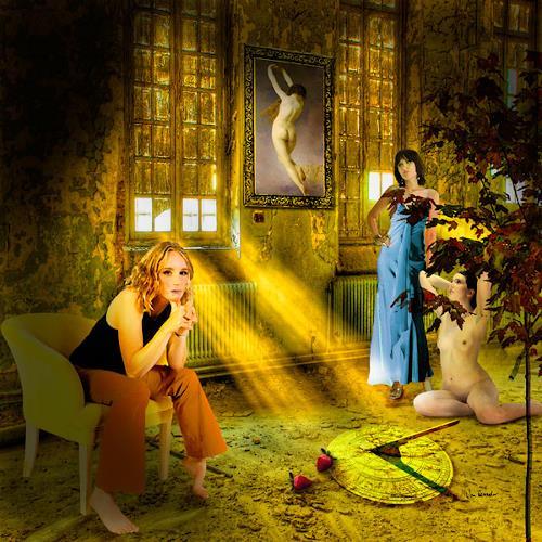Van Renselar, Gallery of Light, Abstraktes, Fantasie, New Image Painting, Expressionismus
