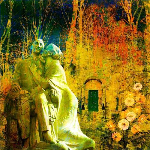 Van Renselar, Never Leave Me, Situationen, Menschen: Mann, Postsurrealismus, Expressionismus