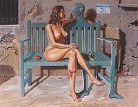Ramaz-Razmadze-Fantasie-Gefuehle-Liebe-Gegenwartskunst--Postsurrealismus